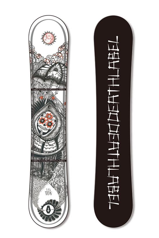 デスレーベル death label snowboard スノーボード