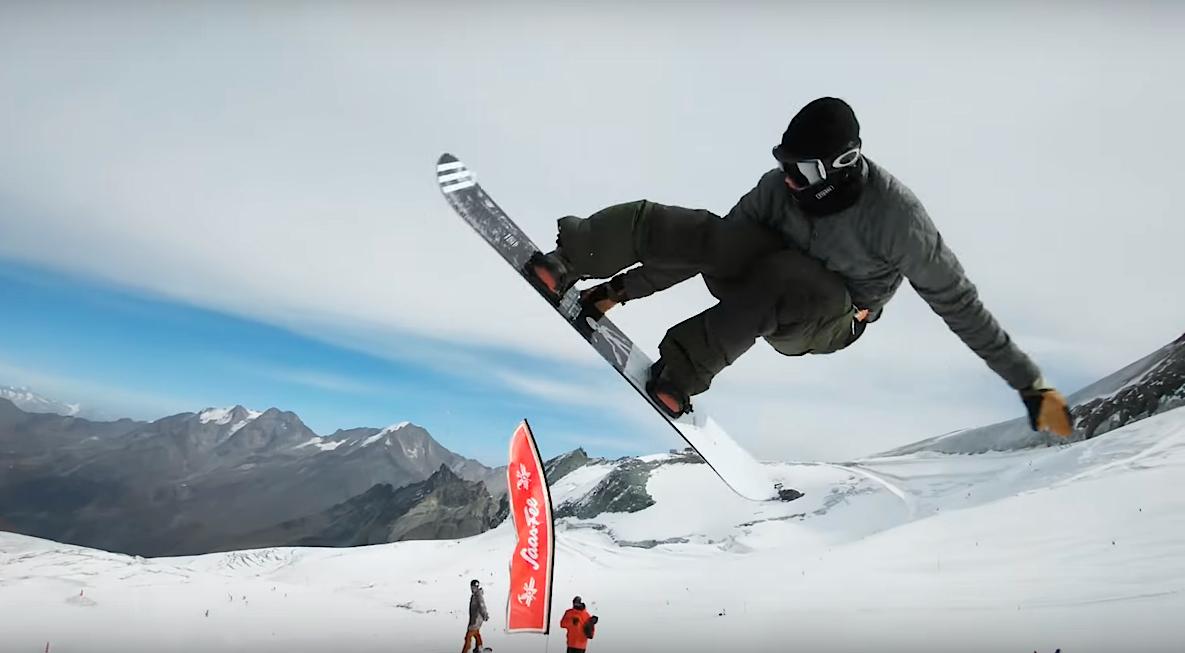スノーボード snowboard ジャンプ jump