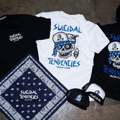 ボルコム VOLCOM SUICIDAL TENDENCIES スイサイダル・テンデンシーズ