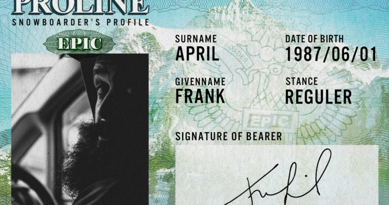 Frank April フランク・エイプリル