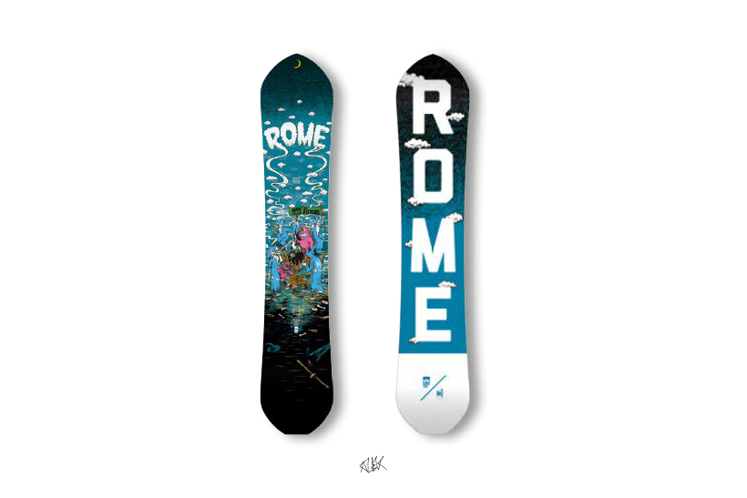ALEK OESTRENG アレック・オーストレング rome sds snowboards rk1