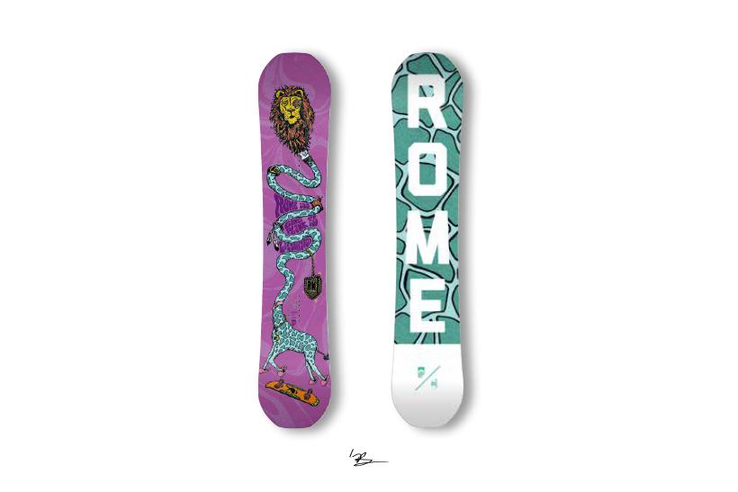 rome sds snowboards rk1 LEN JORGENSEN レン・ヨルゲンセン