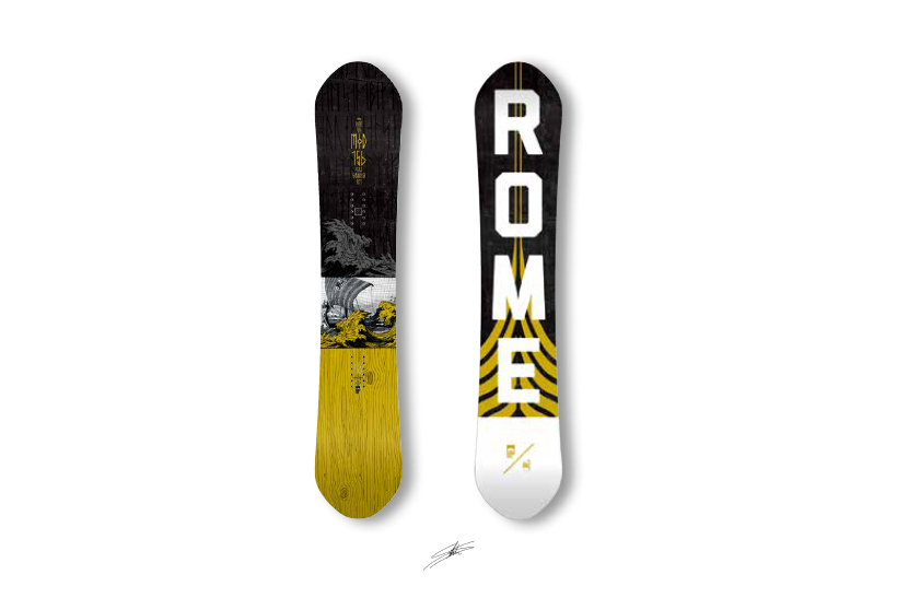 rome sds snowboards STALE SANDBECH ステール・サンドベック