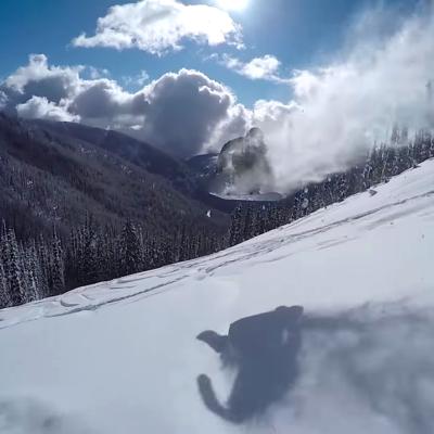 スノーボード snowboard powder パウダー