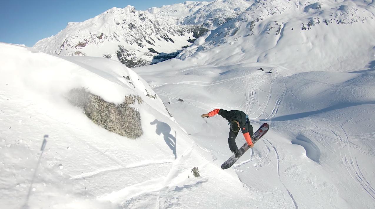 スノーボード snowboard whistler ウィスラー