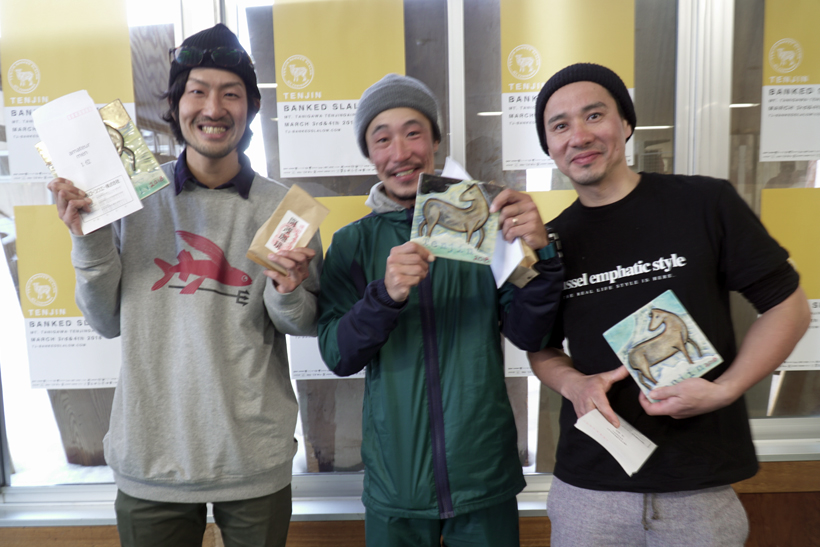 tenjin banked slalom 天神平 谷川岳
