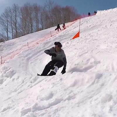スノーボード snowboard banked slalom バンクドスラローム