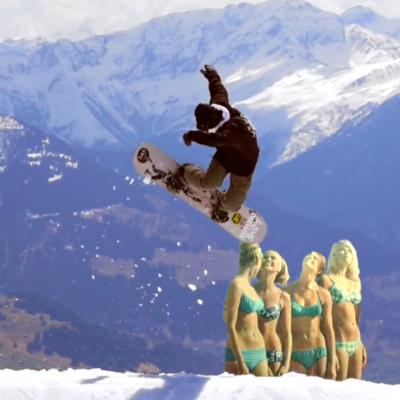 スイス Switzerland laax ラークス