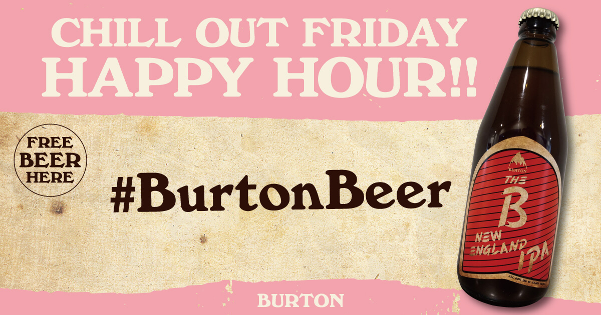 Chill Out Friday burton バートン