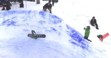 バンクドスラローム banked slalom temple cummins テンプル・カミンズ