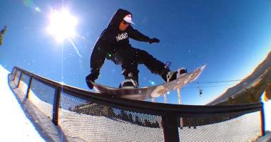 スノーボード snowboard tail press テールプレス