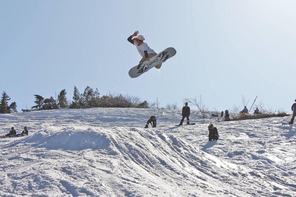マウンテンウェーブ mountain wave goryu banked slalom 五竜バンクドスラローム