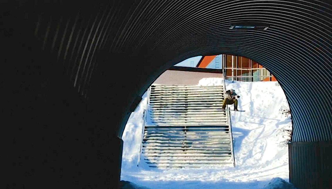 ボードスライド boardslide snowboard スノーボード