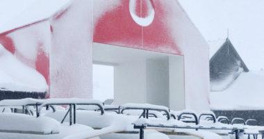 ニュージーランド new zealand snowing 雪