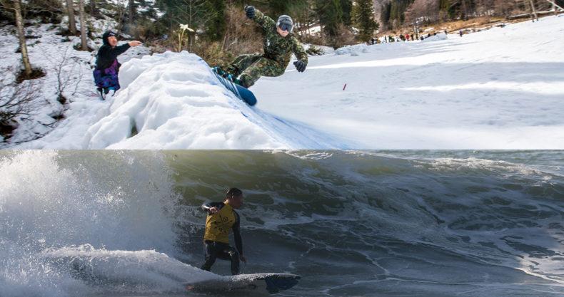 snowsurfers