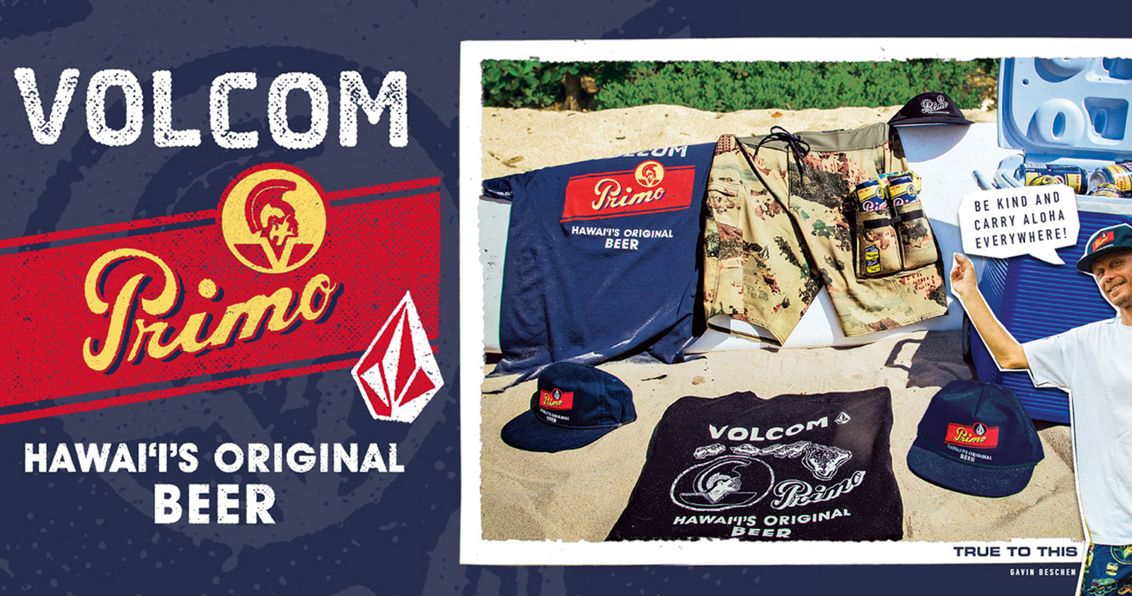volcom primo beer cllection コラボ ボルコム