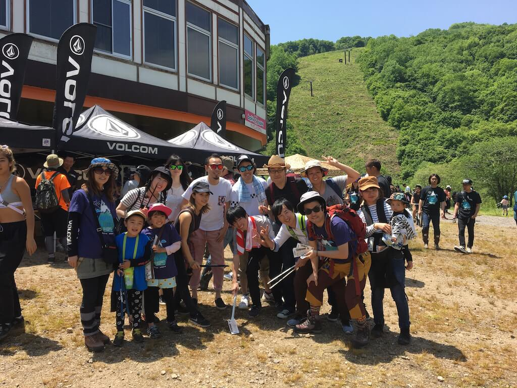 VOLCOM PATAGONIA MOUNTAIN CLEAN UP 鹿島槍