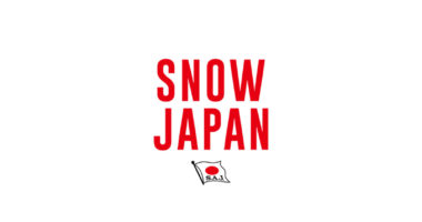 SAJ snow japan logo