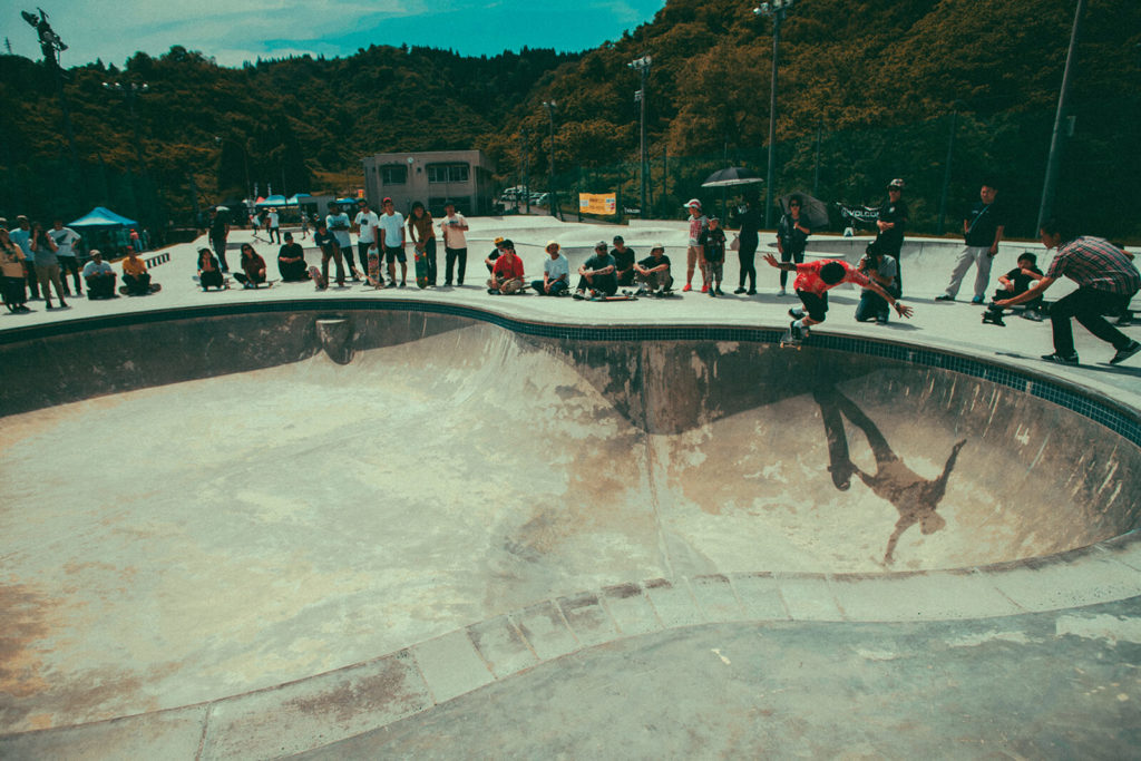 keep on push 南魚沼市スケートパーク