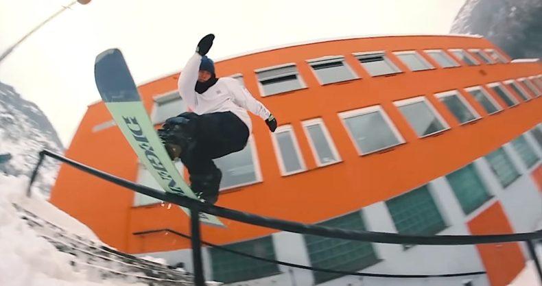 snowboarding rail スノーボード レール
