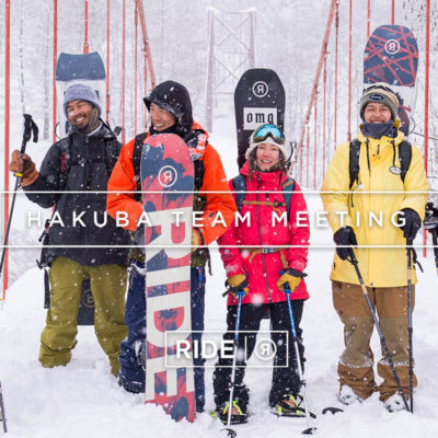 ride snowboards hakuba team meeting