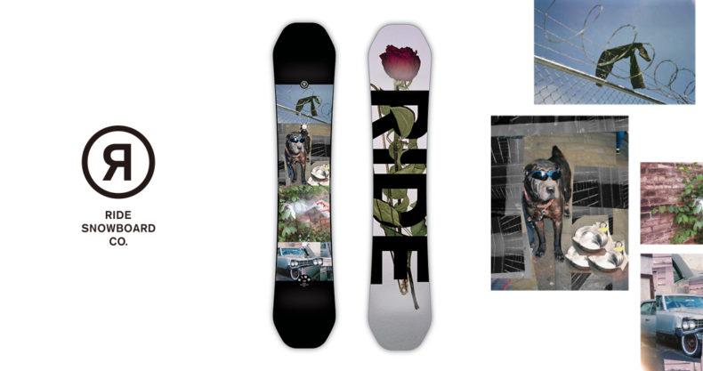 Ride snowboards KINK