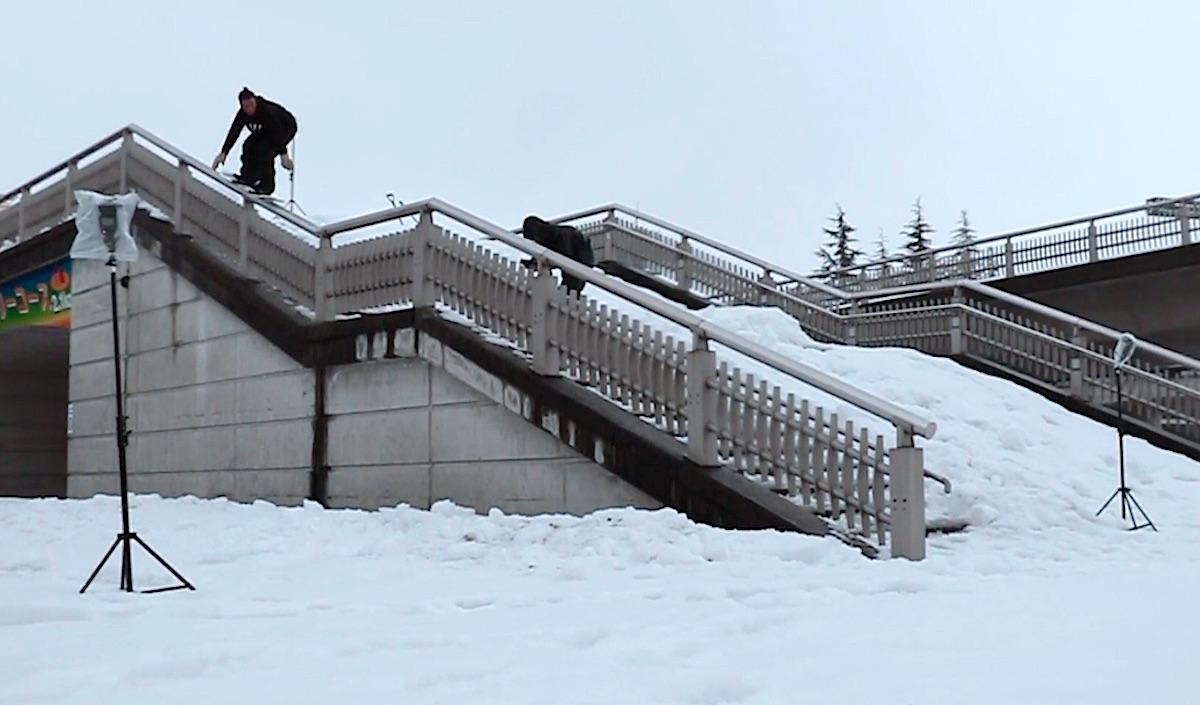 スノーボード rail snowboard レール