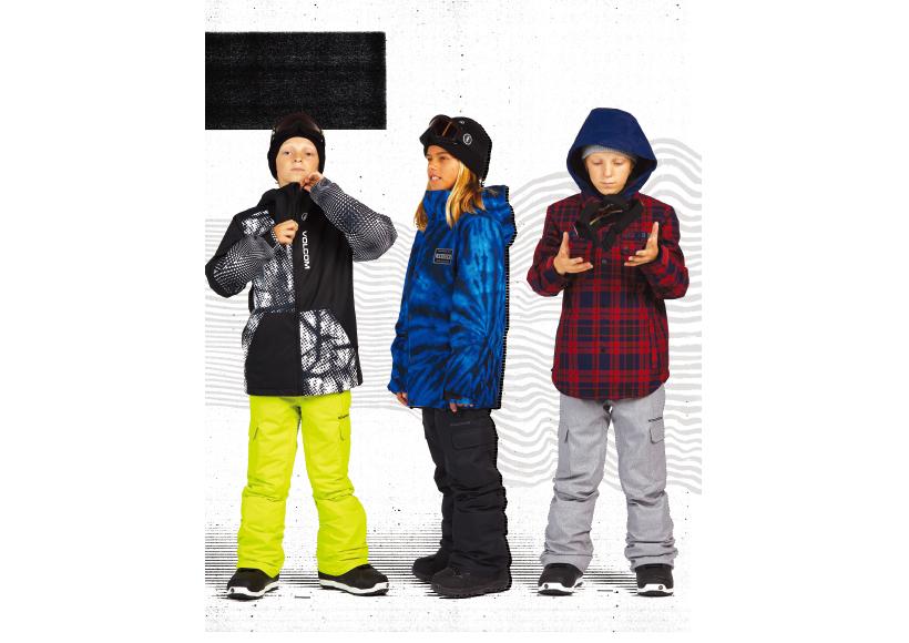 volcom snow ボルコム キッズ ウェア カタログ