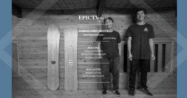 epic tv スノーボード snowboard