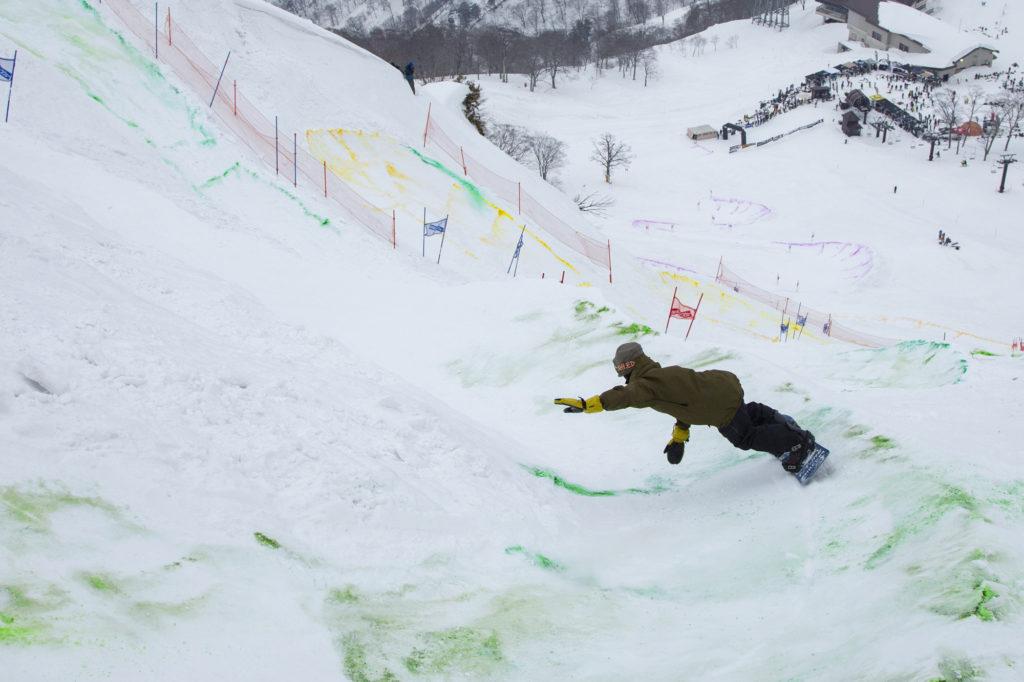 Tenjin Banked Slalom Rei Igarashi