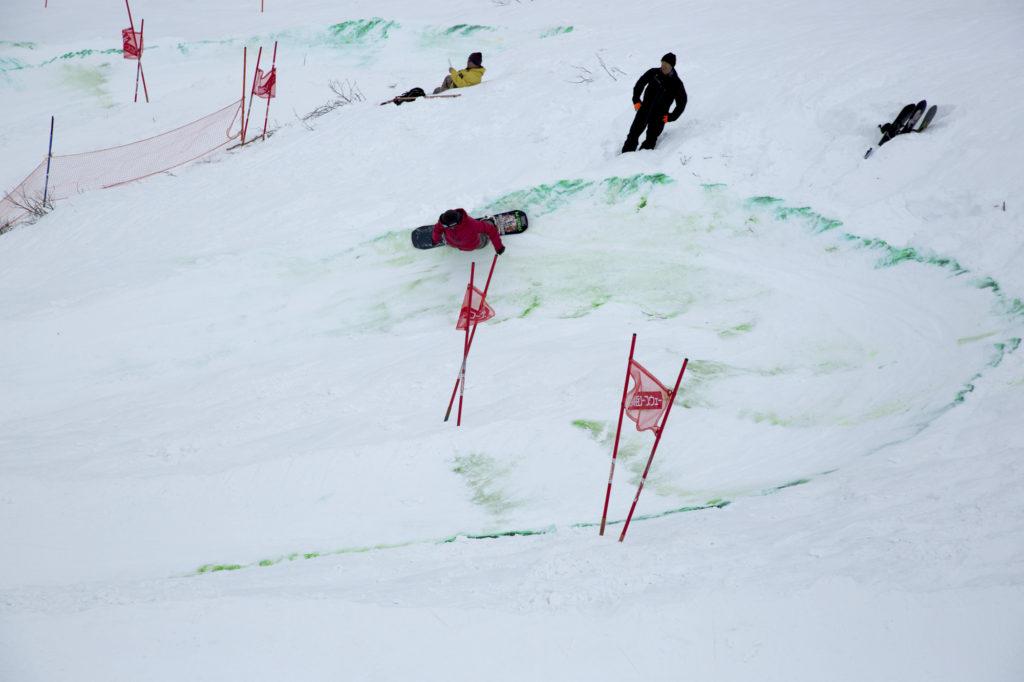 Ryosuke Abe Tenjin Banked Slalom