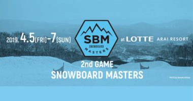 snowboardmasters ロッテアライリゾート