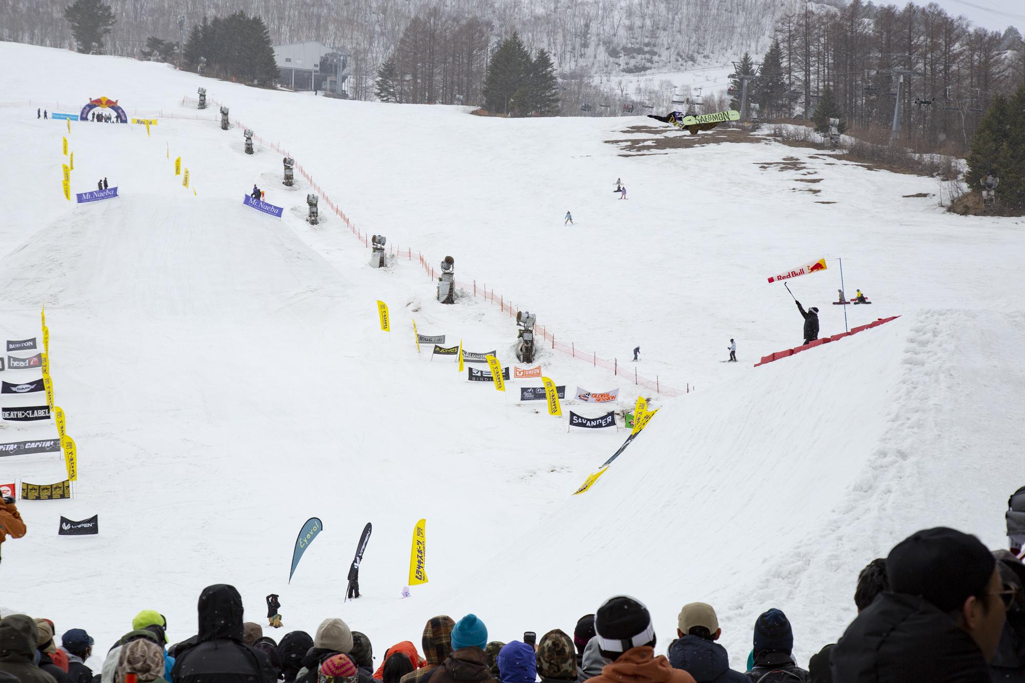 Conrad 山本 Salomon Snowboards