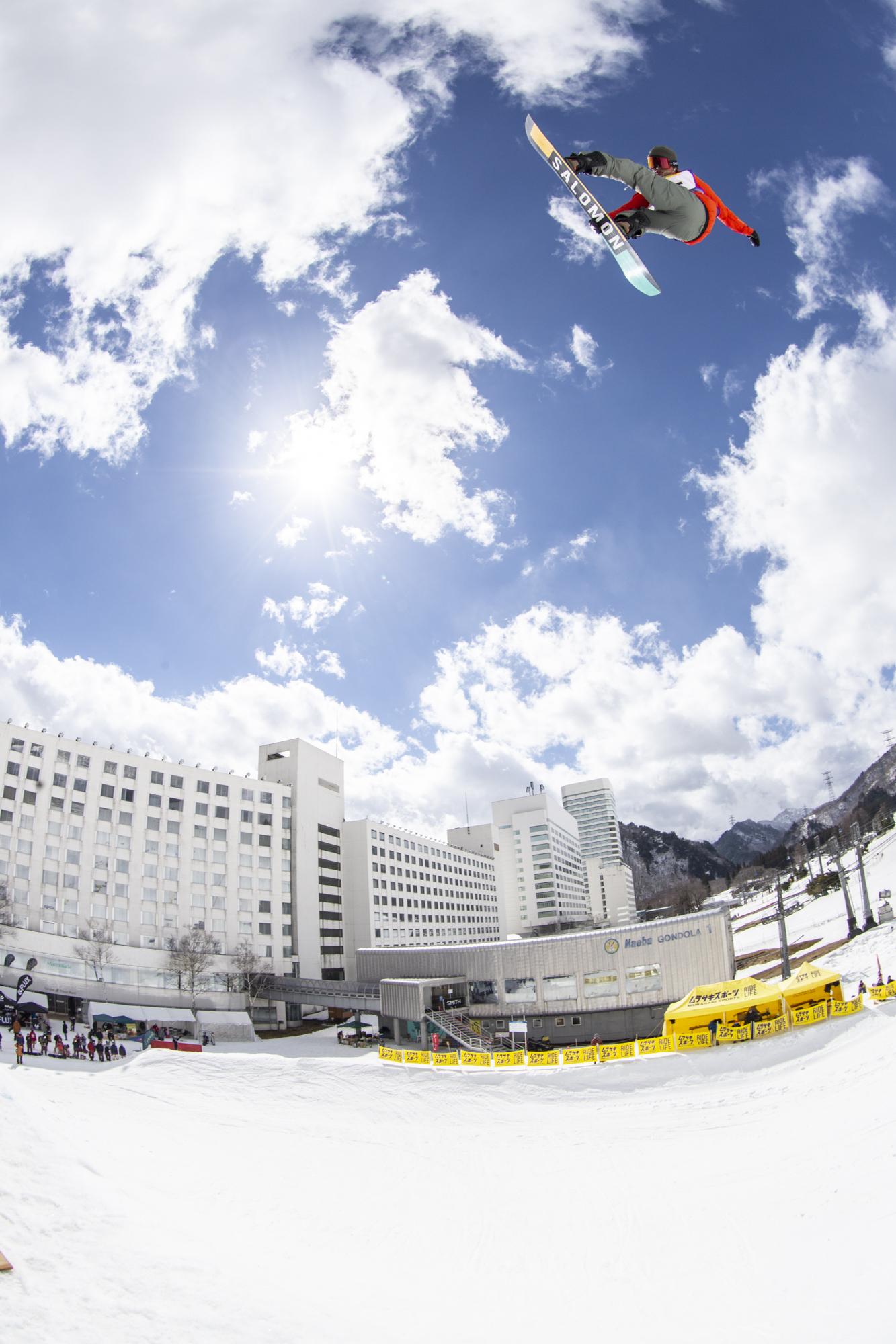 神宮寺海人 Salomon Snowboards