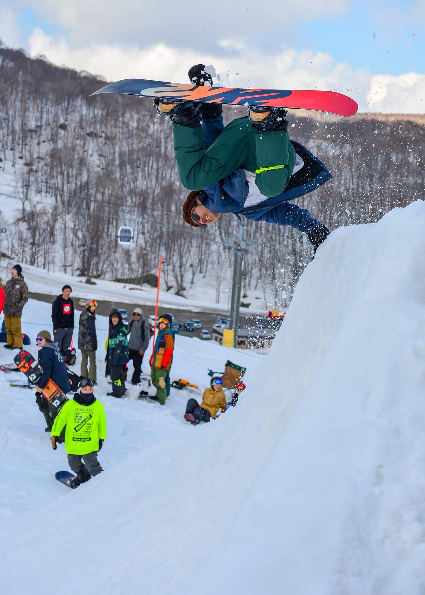 渡辺大介 K2 Snowboards