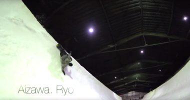 snow-wave-session-2019 カムイ御坂 ハーフパイプ halfpipe
