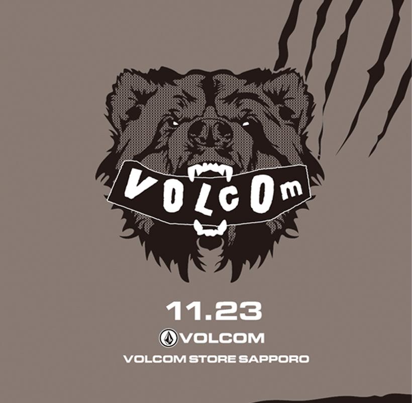 Volcom Store Sapporo ボルコム