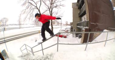 k2 snowboarding flickering
