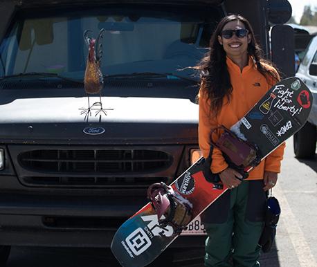渡辺大介 K2 Snowboarding