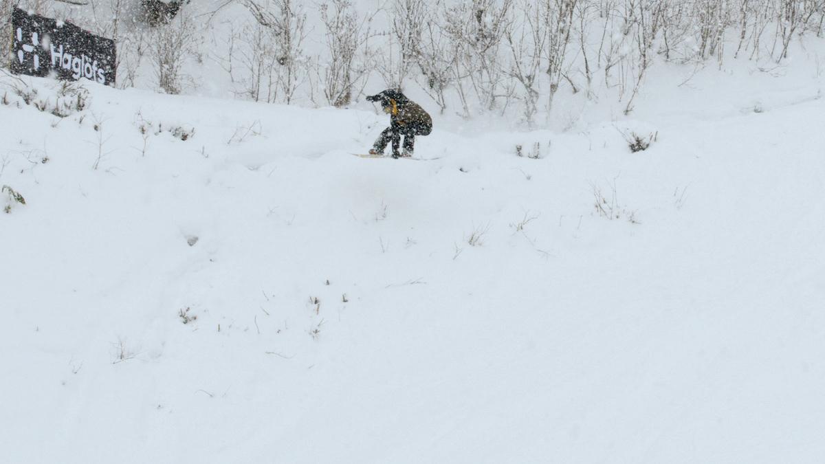 Haglofs Snow Days ホグロフス 山崎恵太