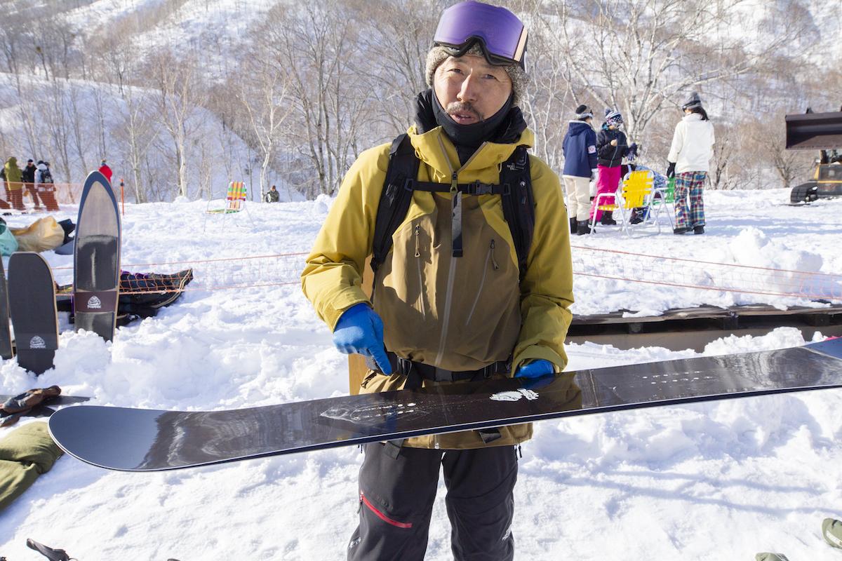 シェイパー スノーボード shaper summit