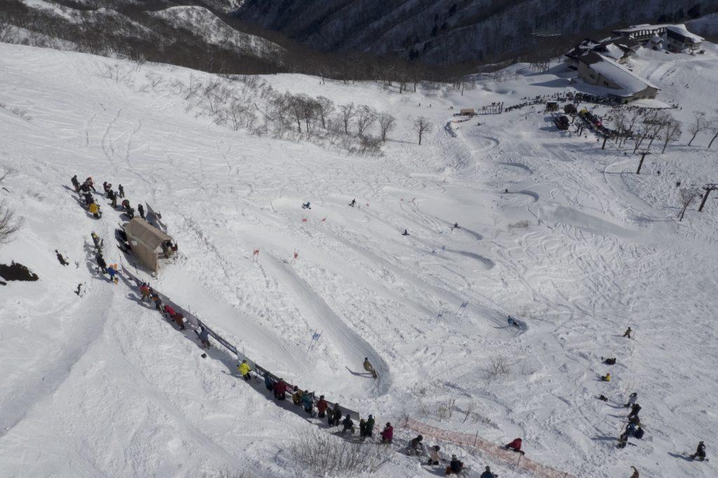 tenjin banked slalom 天神 バンクド