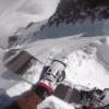 """身の毛もよだつピークドロップの目線映像 """"HOW TO SNOWBOARD A BIG MOUNTAIN LINE"""""""